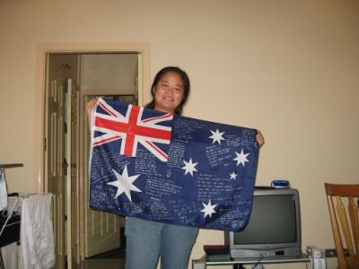 Bye bye Aussies!
