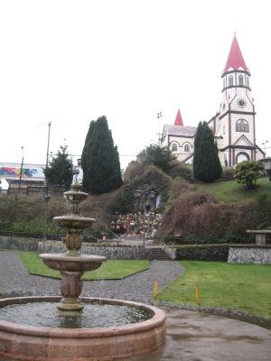 A igreja da cidade