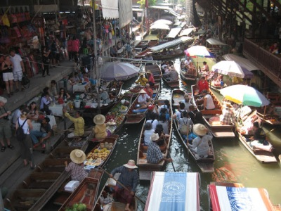 Congestionamento de barcos!