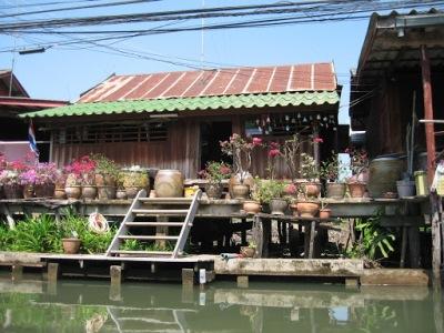 Casa à beira do rio