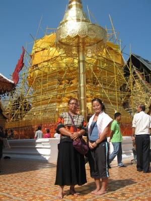 A mãe tailandesa