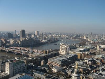 Vista da St. Paul's Cathedral