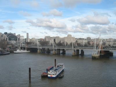 Rio Tâmisa, visto da London Eye