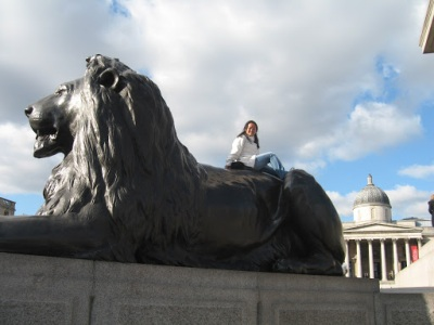 A foto (suada) com o leão