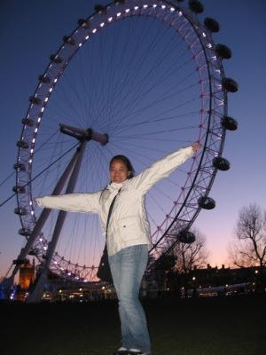 London Eye, cartão postal de Londres