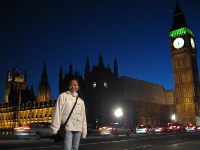 Big Ben, by night