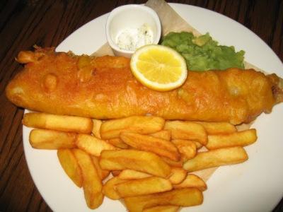 Fish&Chips, tipicamente londrino