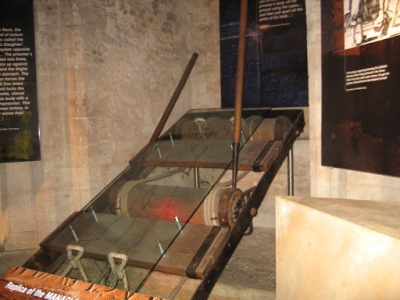 Máquinas de tortura na Torre de Londres