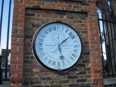 O relógio 24 horas