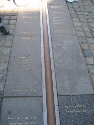 A linha que divide o mundo em leste e oeste