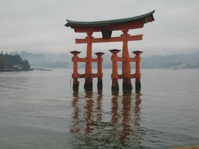 Torii sagrado de Miyajima