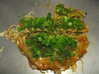 Okonomiyaki. Mais que aprovado!