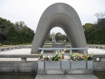 Cenotáfio. Uma homenagem às vítimas da bomba