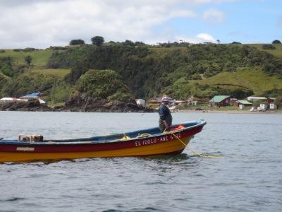 Pesca, a principal atividade econômica da ilha