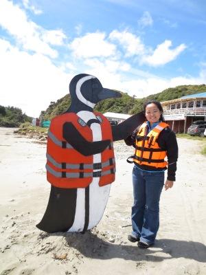 Na pinguinera de Puñihuil