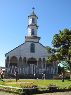 Igreja de Dalcahue, patrimônio da humanidade pela UNESCO