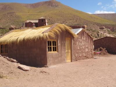 Casinha típica de Machuca