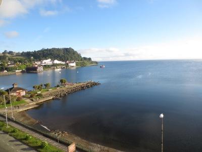 Puerto Varas fica à beira do Lago Llanquihue