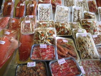 O mercado de peixes