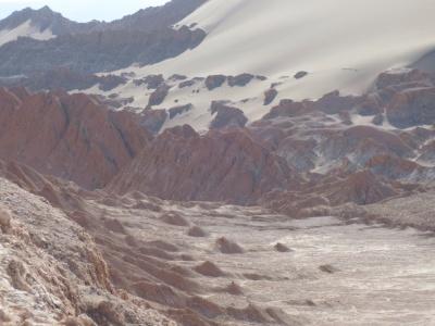 Formações típicas do Valle de la Luna